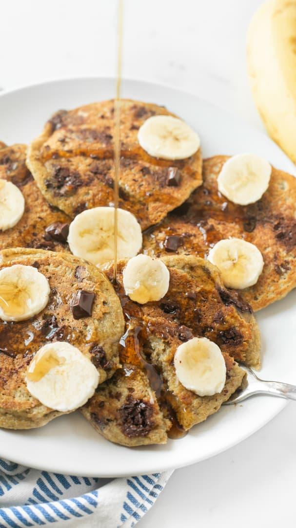 Blender Banana Pancakes 2