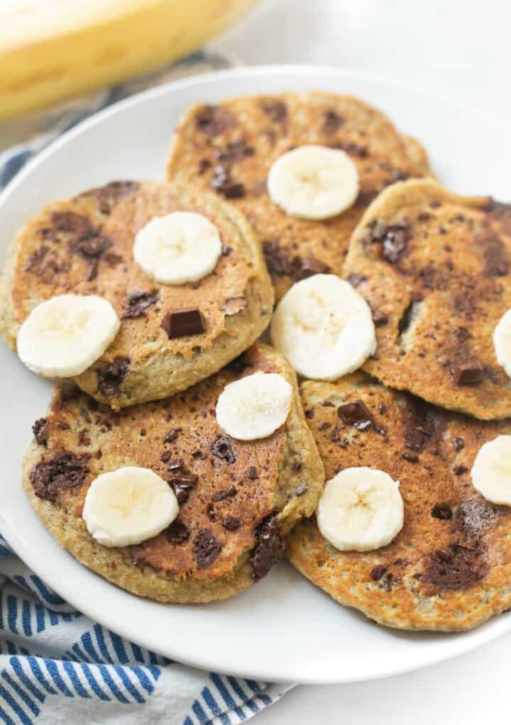 Blender Banana Pancakes 3
